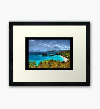 Choose Paradise Framed Print