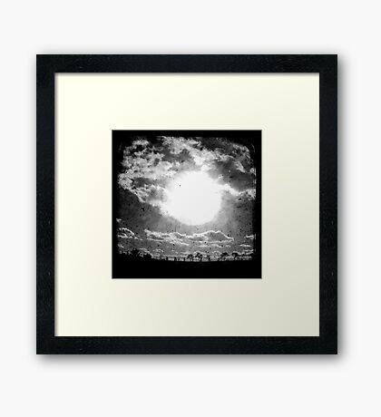 The Sun - TTV Framed Print