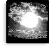 The Sun - TTV Canvas Print