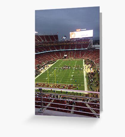 Levi's Stadium Greeting Card