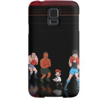 Mike Tyson - Punch Out pixel art Samsung Galaxy Case/Skin