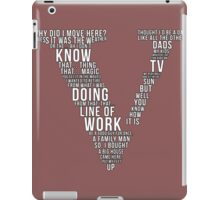 GTA V Typography iPad Case/Skin