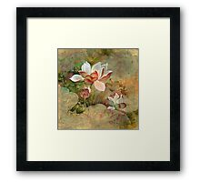 """Golden Mist""  from the series ""In the Lotus Land""  Framed Print"