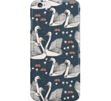 Origami Swans by Andrea Lauren iPhone Case/Skin