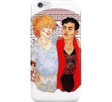 Achilles & Patroclus iPhone Case/Skin