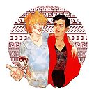 Achilles & Patroclus by Charlotte Gilbert
