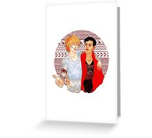 Achilles & Patroclus Greeting Card