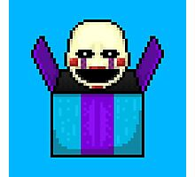 Five Nights at Freddy's 2 - Pixel art - The Puppet in the box Photographic Print