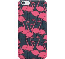 Flock of Flamingos by Andrea Lauren iPhone Case/Skin