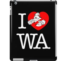 I PNW:GB WA (black) v2 iPad Case/Skin