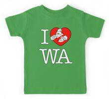 I PNW:GB WA (black) v2 Kids Tee