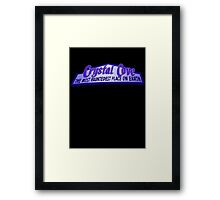 Crystal Cove The Most Hauntedest Place on Earth Framed Print