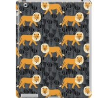 Safari Lion Pattern by Andrea Lauren iPad Case/Skin