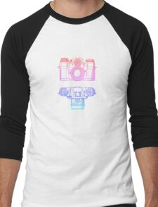 Vintage Photography - Contarex (Multi-colour) Men's Baseball ¾ T-Shirt