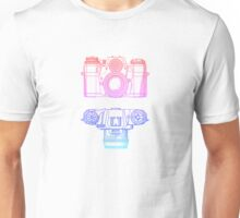 Vintage Photography - Contarex (Multi-colour) Unisex T-Shirt