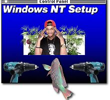 NT Workstation in the cut - that's a scary site by Saack City LLC