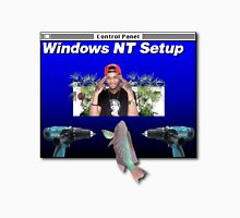 NT Workstation in the cut - that's a scary site Unisex T-Shirt