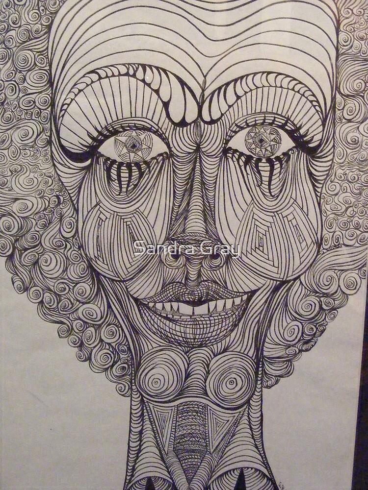 Curly by Sandra Gray