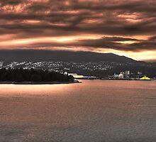 Vancouver Harbor by Jamie Lamb
