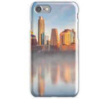 January Morning in Austin, Texas 1 iPhone Case/Skin