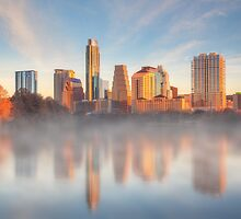 January Morning in Austin, Texas 1 by RobGreebonPhoto