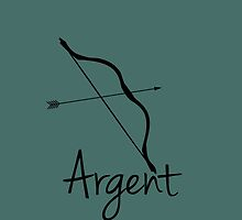 Bow and Arrow by Denice Meyer