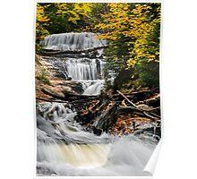 Sable Falls Cascade Poster