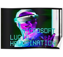 Microsoft Lucid Hallucination Poster