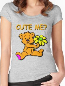 CUTE ME? Women's Fitted Scoop T-Shirt