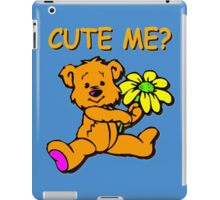 CUTE ME? iPad Case/Skin