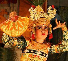 Balinese Dancer by Ine Beerten