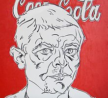 Portrait with Coca Cola by Vitali Komarov