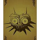 Majoras mask gold  by PuppyNomNom
