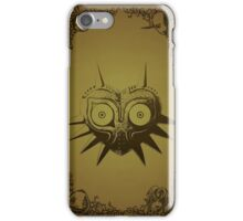 Majoras mask gold  iPhone Case/Skin