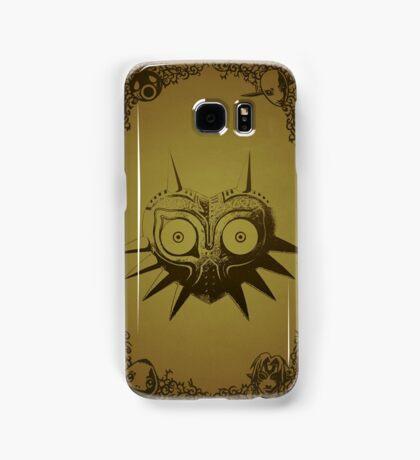 Majoras mask gold  Samsung Galaxy Case/Skin