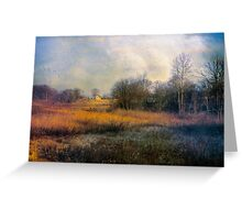 Walk through the Fields Greeting Card