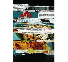 destructive read Photographic Print