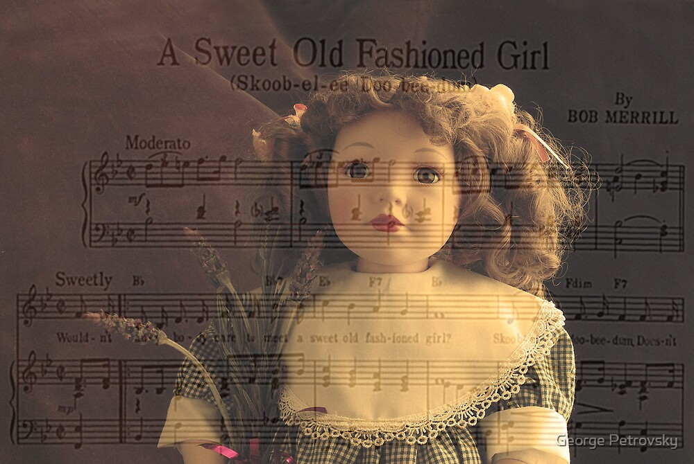 A Sweet Old Fashioned Girl by George Petrovsky