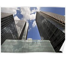 Canary Wharf Poster