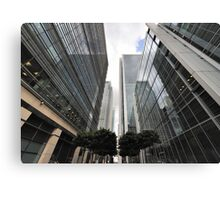 Canary Wharf Office Towers Canvas Print