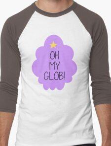 Lumpy Space Princess OH MY GLOB! Men's Baseball ¾ T-Shirt