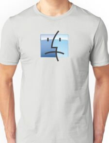 Sad Apple ios Face Unisex T-Shirt