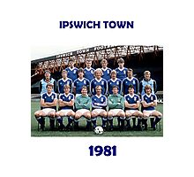 Ipswich Town 1981 - the greatest! Photographic Print