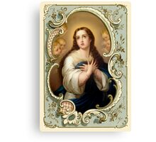 Mary Immaculate Canvas Print