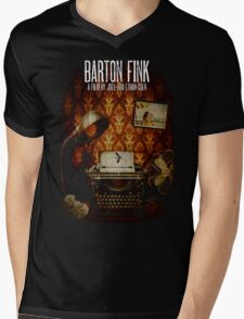 Coen Brothers Classic Film Barton Fink Mens V-Neck T-Shirt