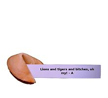 pretty little liars fortune cookie by Angelr0se