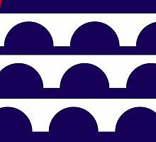 des moines city flag by tony4urban