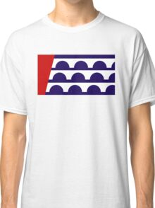 des moines city flag Classic T-Shirt