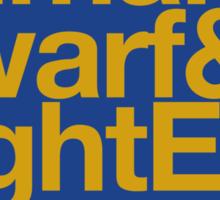 Sticker! Vanilla Races : Alliance (Faction Spirit) - WoW goes Helvetica Sticker