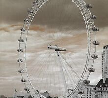 London Eye by Anders Hollenbo
